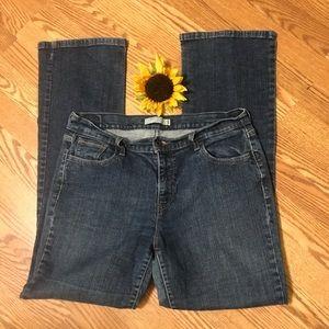 Levi's 515 Dark Wash Bootcut Jeans | Red Tab 14L